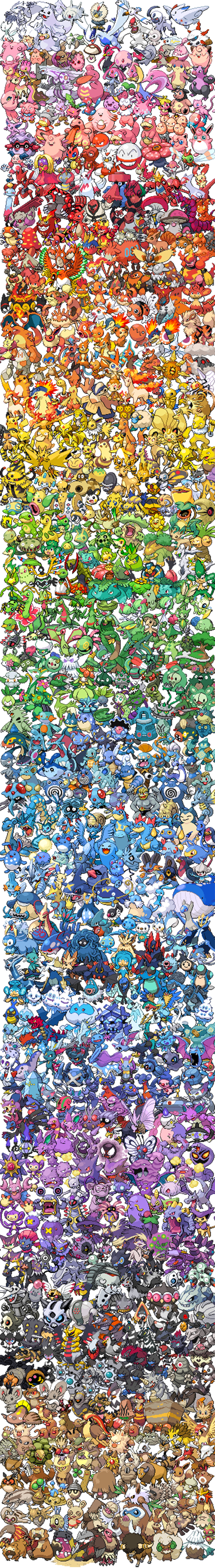 Shades of Pokémon