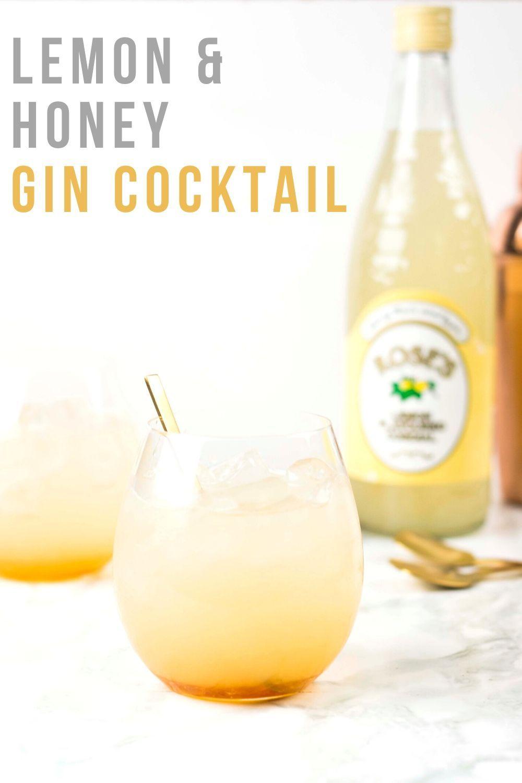 Photo of Lemon and Honey Gin & Tonic