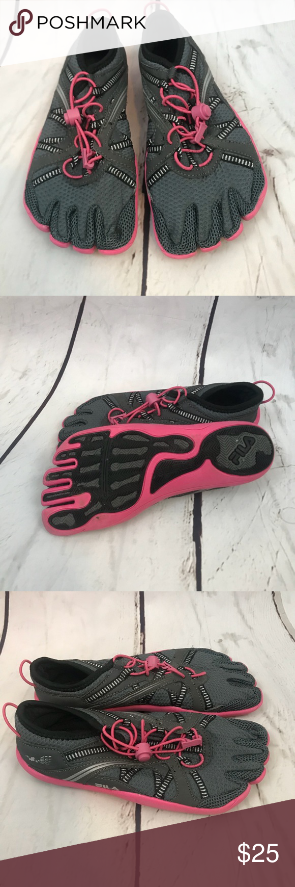 b39eaba7f787 Fila Skele toes woman s size 7 Worn twice great for running or walking on  the beach. Size 7 in excellent condition Fila Shoes