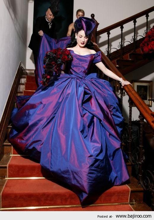 Dita Von Teese Is Beautiful Unique And Unusual Wedding Dresses For Brides 28 Images