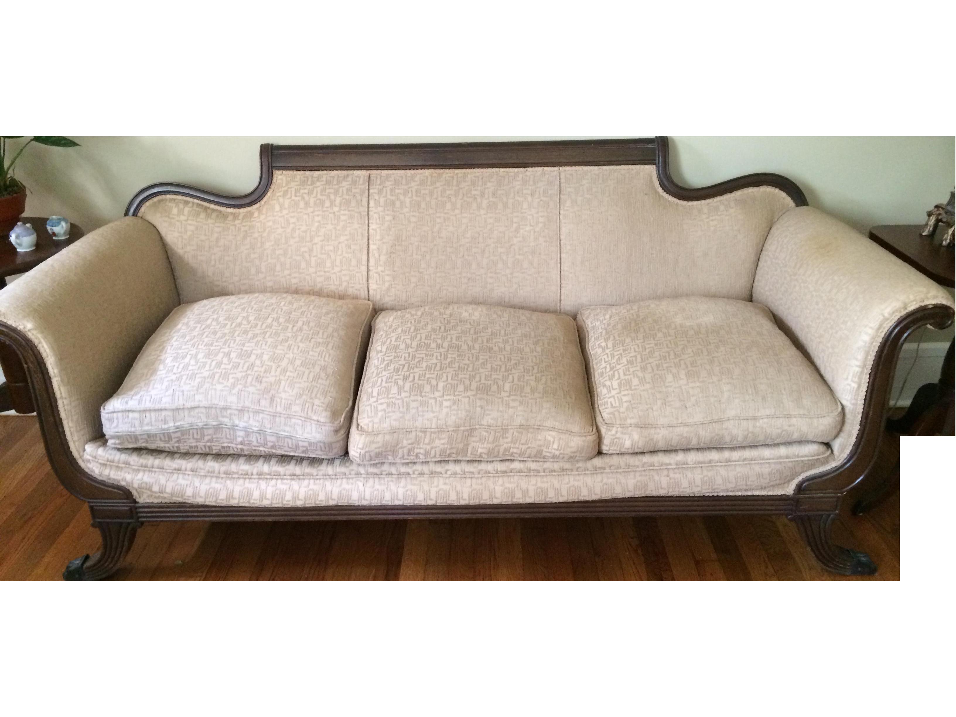 Duncan Phyfe Antique Sofa