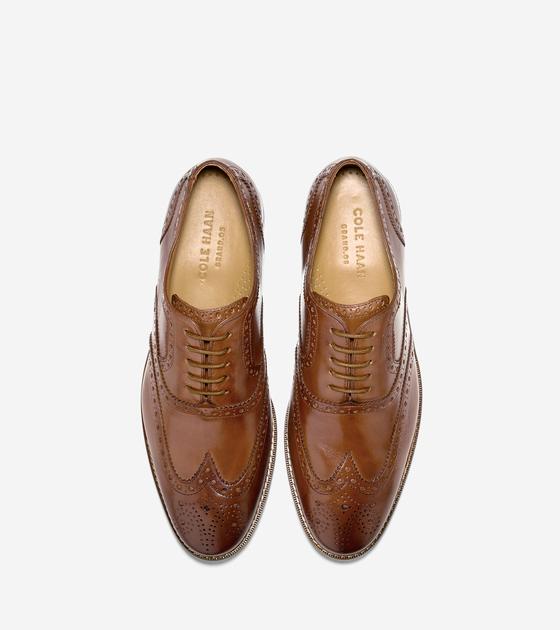 Cambridge Wing Oxford   Dress shoes men
