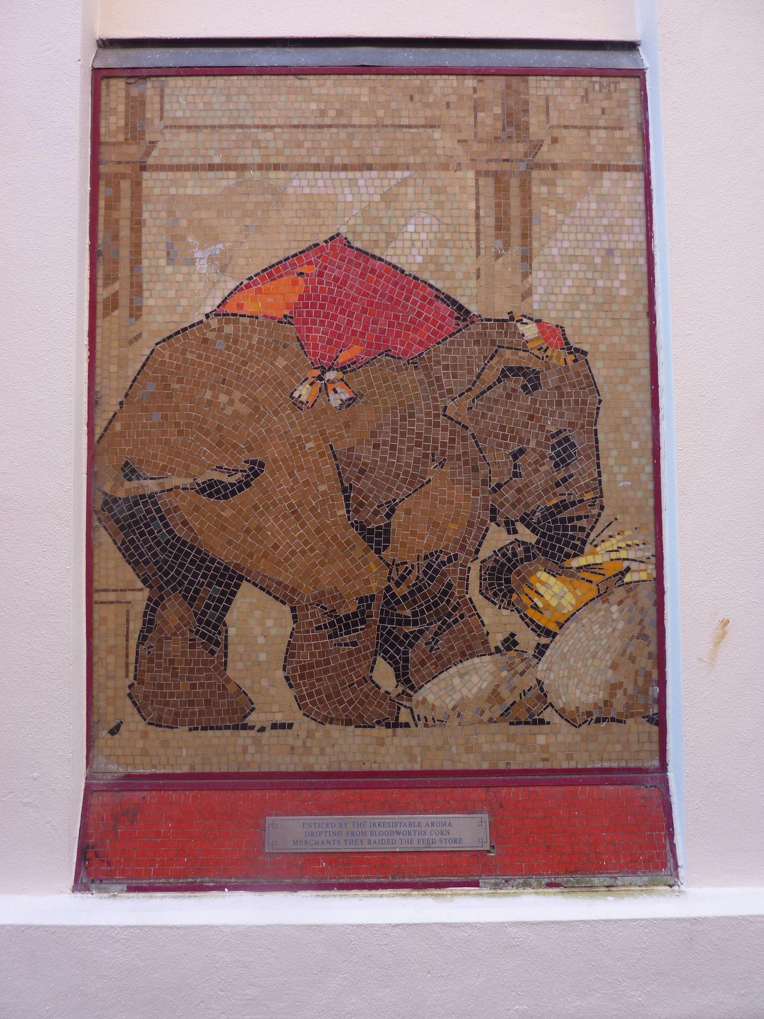 Cheltenham Circus Mosaic