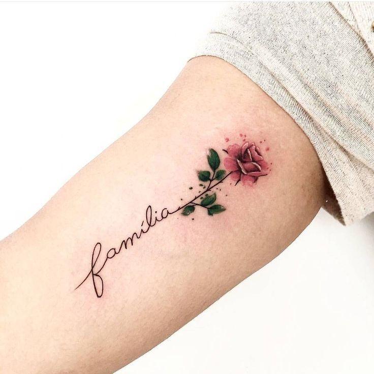 Rose Tätowierung © Gel Tatoo #tatoo #tattoo #RoseTattoos #smallRoseTattoos #Ro… #Tattoos #tattoomodel