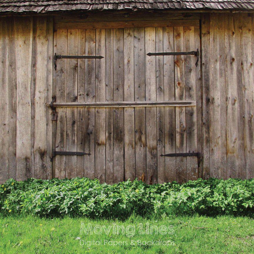 Barn Door Backdrop Wood Gate Rural Newborn Photography Props