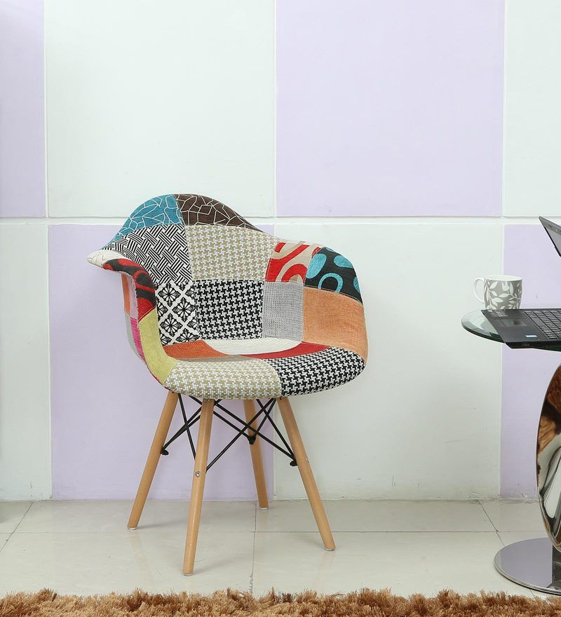Miraculous Multicolour Patch Iconic Chair By Star India Home Living Caraccident5 Cool Chair Designs And Ideas Caraccident5Info