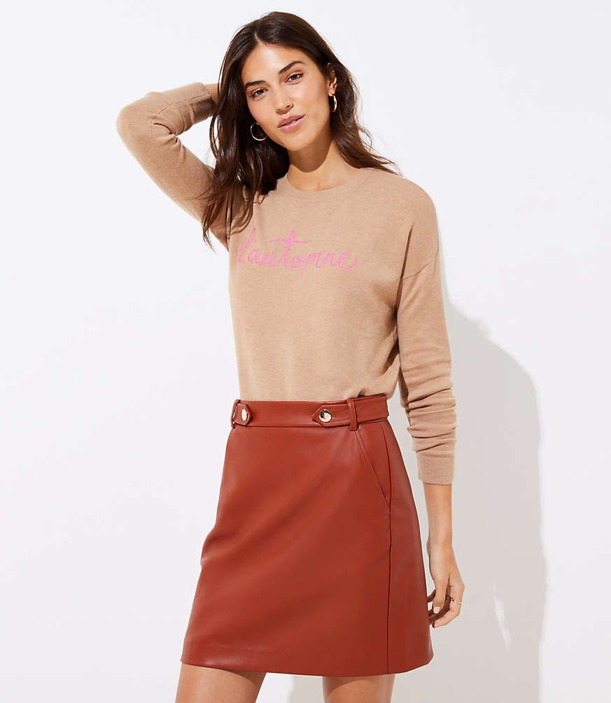 Pin on Leather Skirts