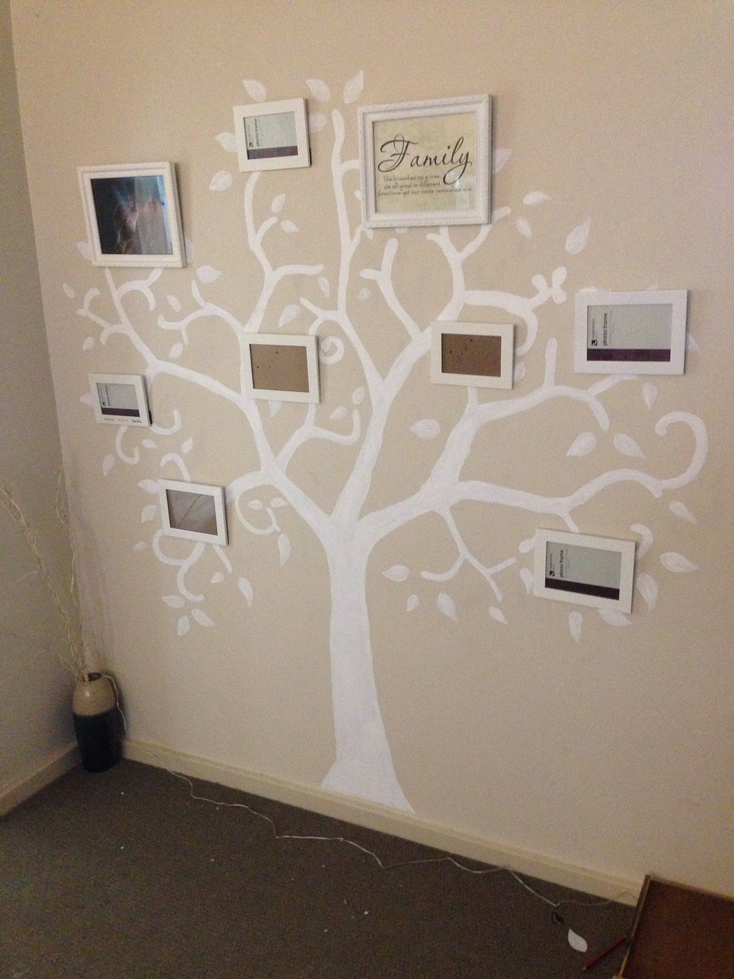 I Created A Family Tree By Using Projector And Tracing