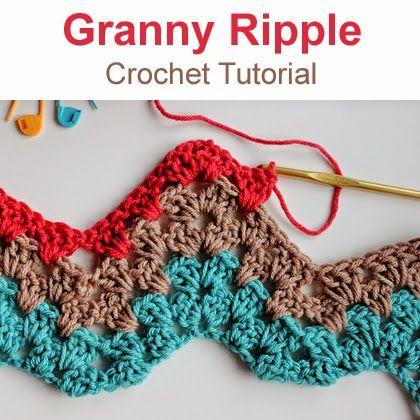 Granny Ripple Crochet Pattern - Make a Granny Ripple Afghan | Kreis ...