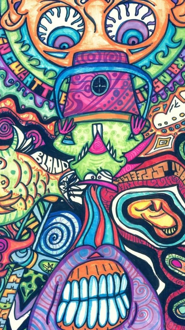 fish_psychedelic_trippy_artwork_traditional_art_faces