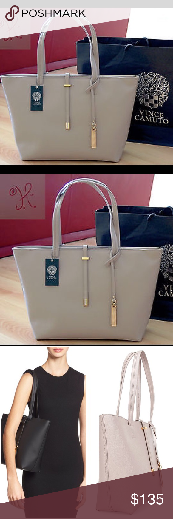 6613d8748851 Vince Camuto Leila Small Saffiano Leather Tote The perfect posh bag ...