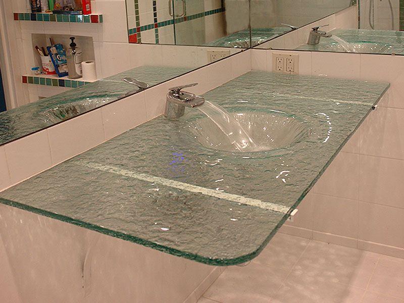 Integrated Wallmount Glass Sink Is25 Cbd Glass Glass Sink
