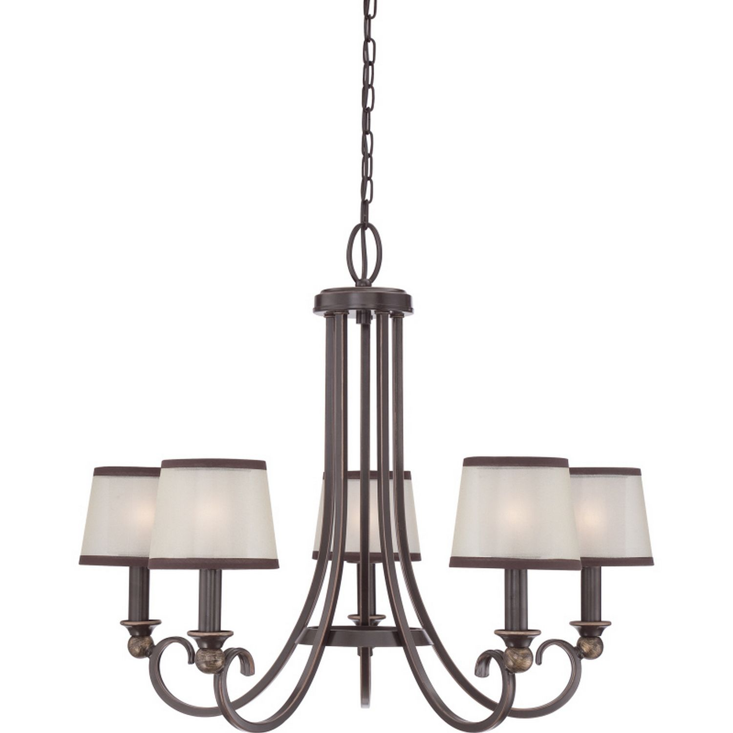 Five light chandelier manufacturerquoizel collection palmer five light chandelier manufacturerquoizel collection palmer product plr5005pn finish palladian arubaitofo Images
