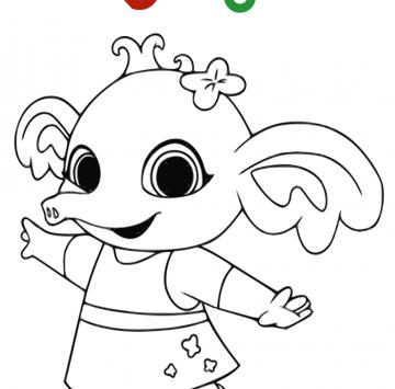 Disegni Bing Da Colorare Cartoni Animati Disegni Da Colorare