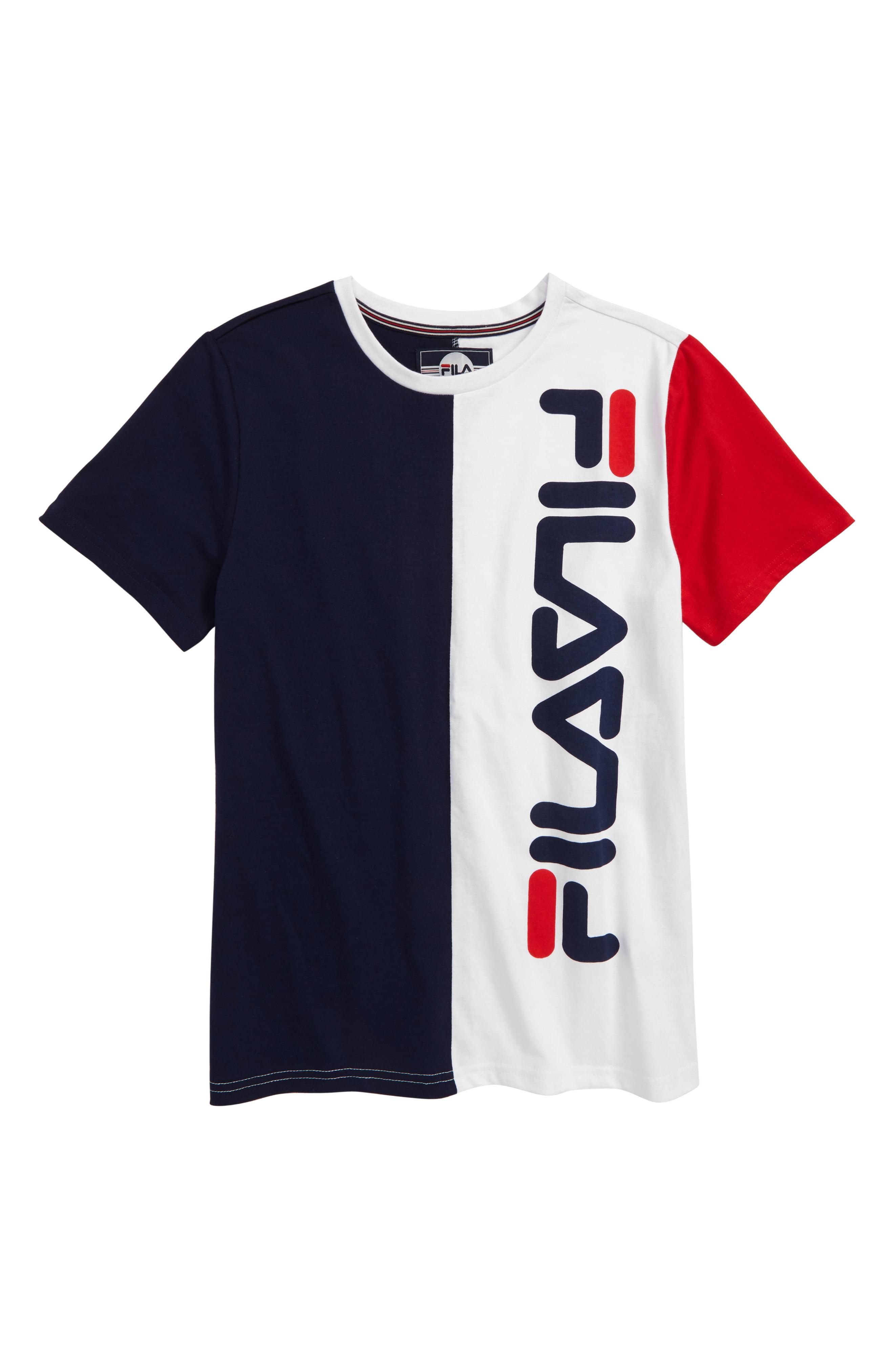 fila colorblock shirt