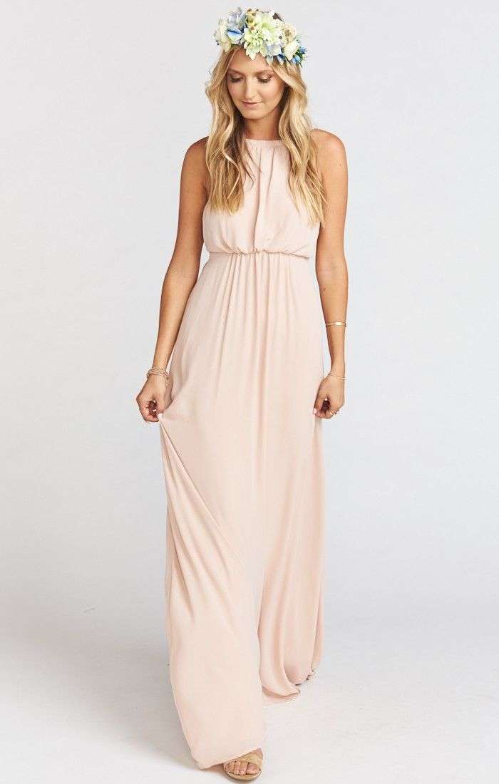 Show Me Your Mumu Amanda Maxi dress in Dusty Blush   Maxi