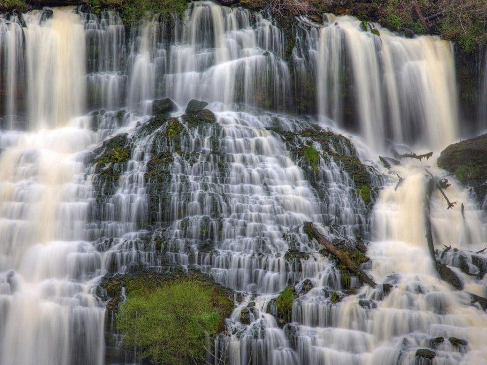wonderful landscape Waterfall wallpaper, Waterfall