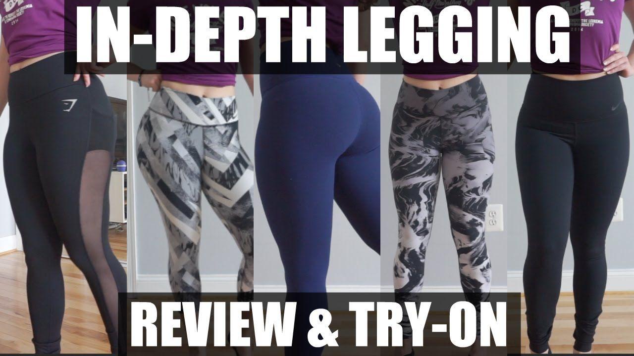 6b5f8827f9f5e In-depth Legging Review | Lululemon, Gymshark, & Nike Legging Try On ...