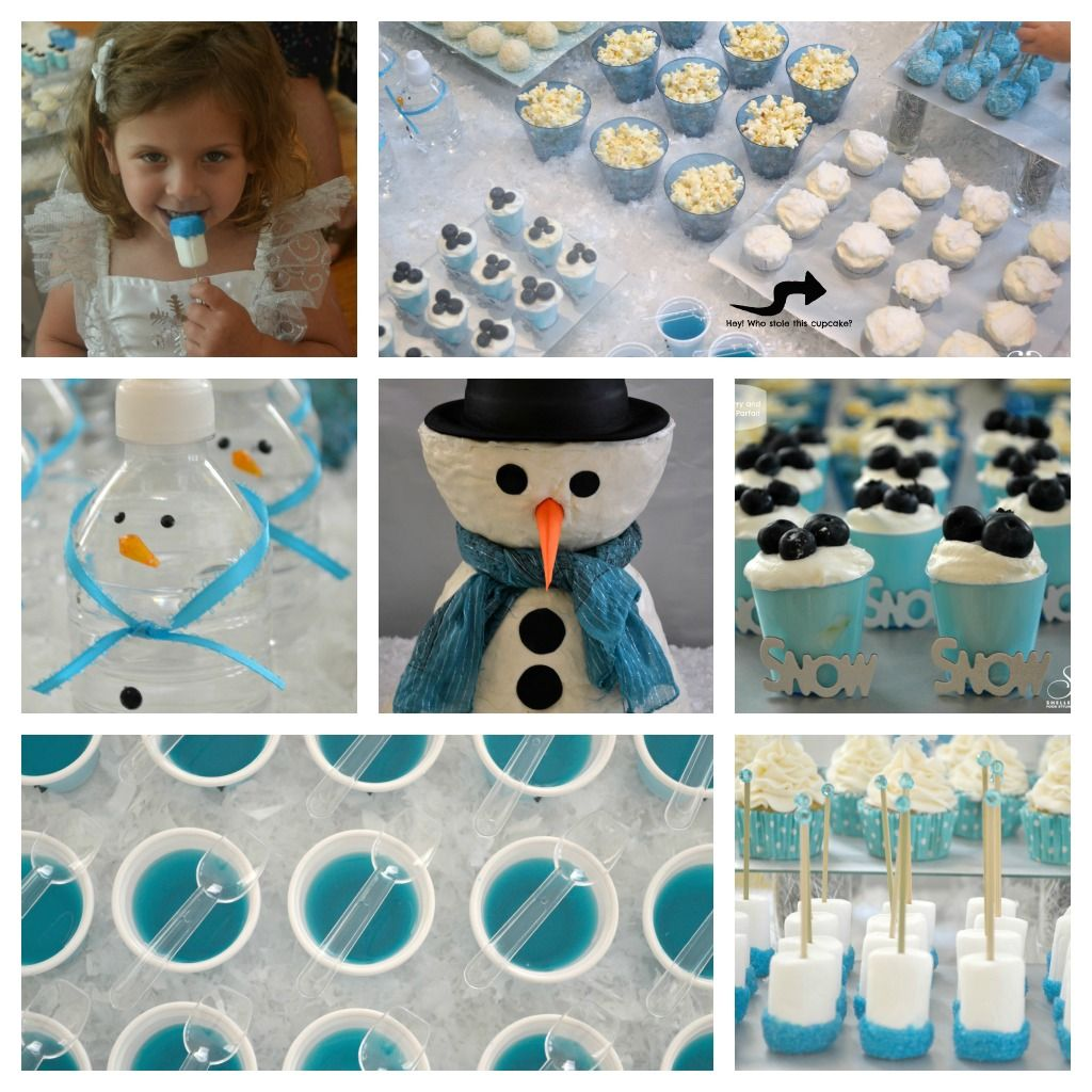 Winter Onederland Party Food - Google Search