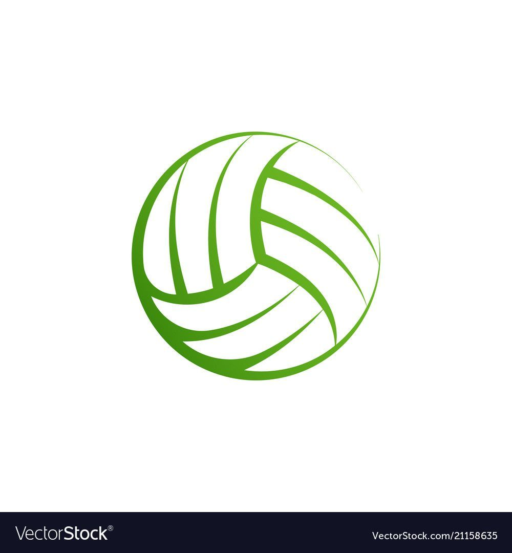 Volleyball Logo Element Vector Volley Ball Icon Isolated Sport Sign Template Ball Element Icon Isolated Logo Sign Sport Template Di 2020 Bola Voli Gambar