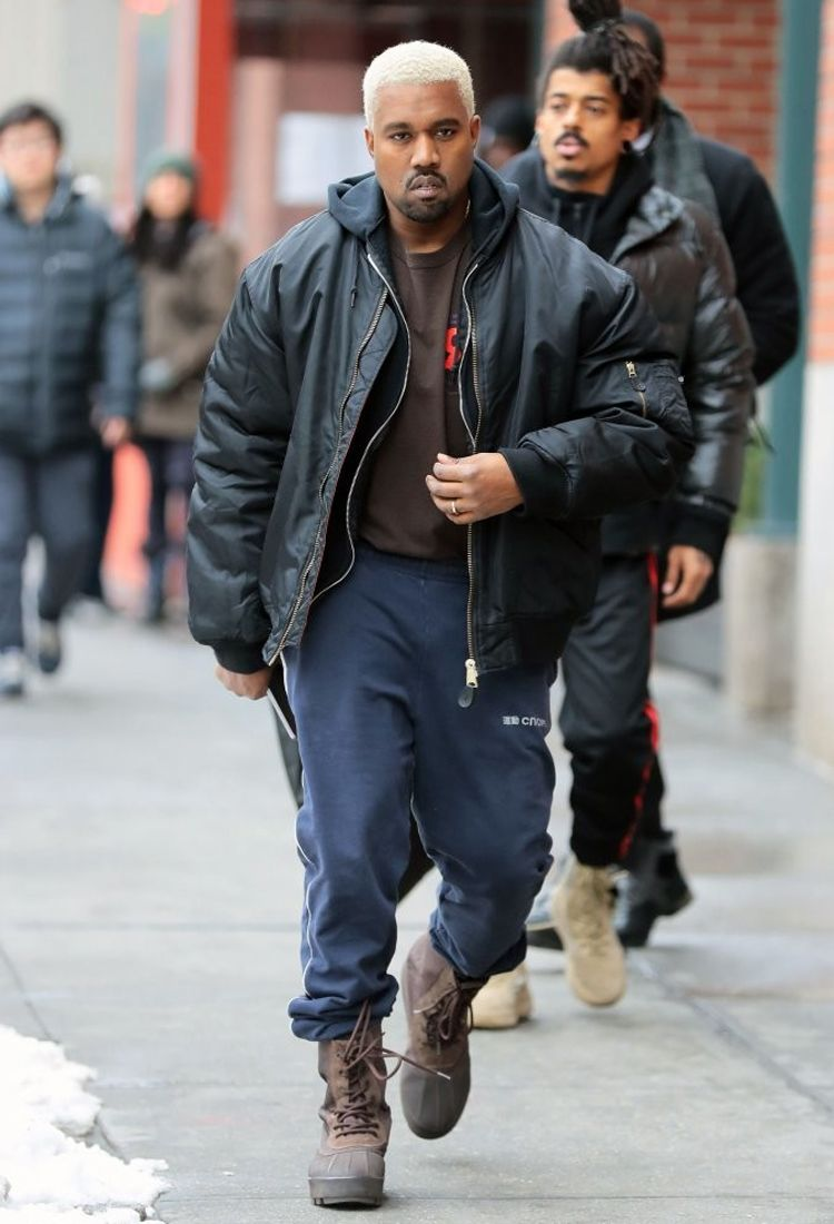 Kanye West In The Adidas Yeezy 950 Celebrity Sneakers Sneakers N Stuff Adidas Yeezy 950