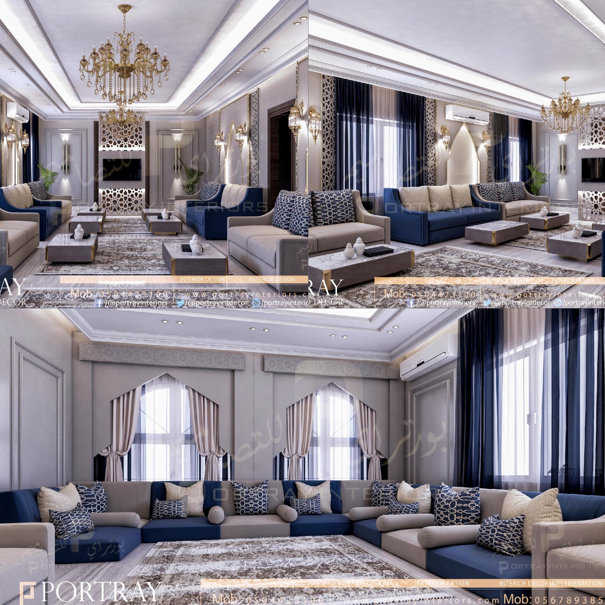 Pin On Luxury Majlis Interior Design تصميم داخلي مجلس فخم