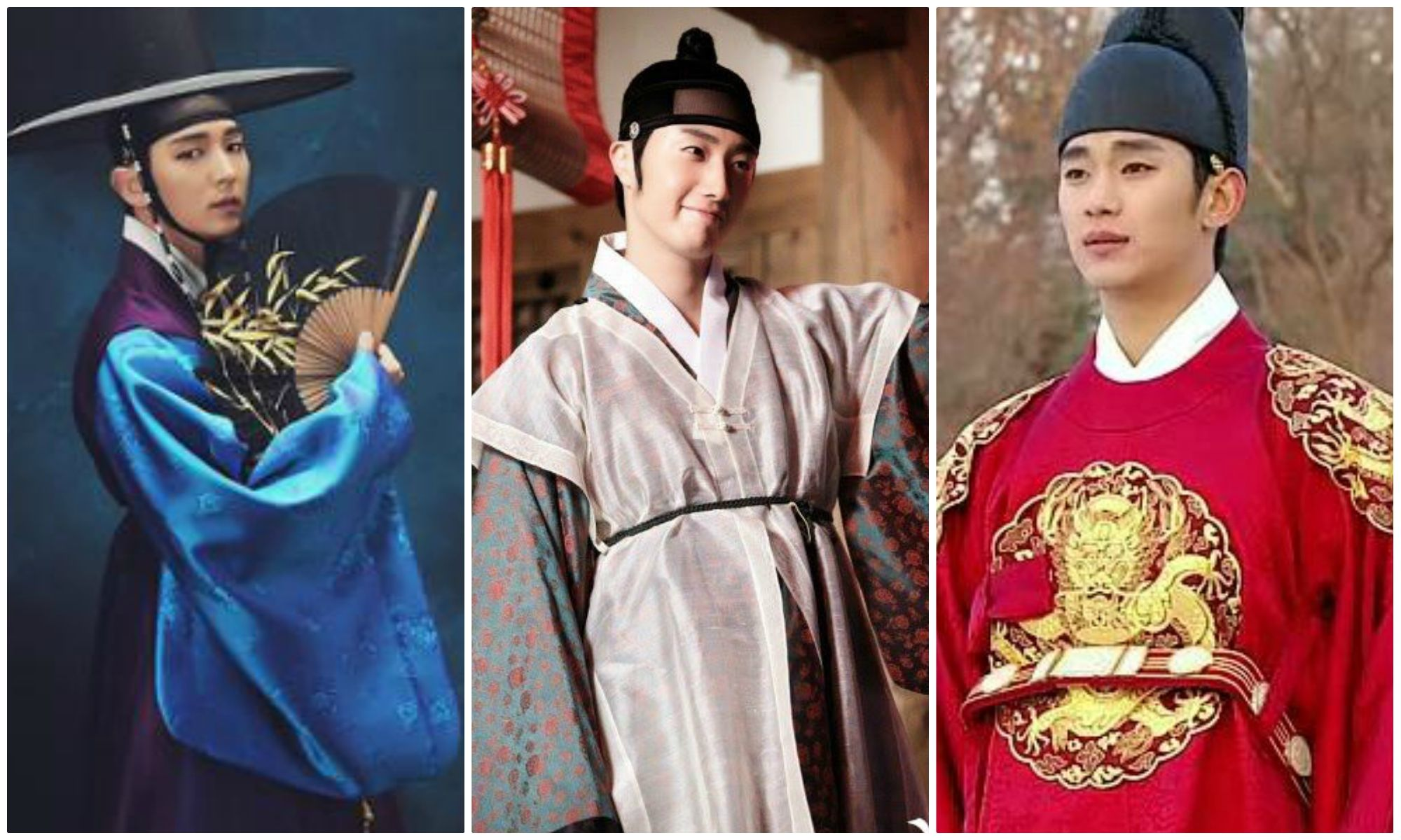 Top 6 Most Handsome Actors In Korean Traditional Clothes