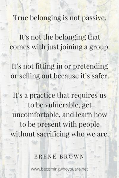 Do We (Really) Belong to a Church?