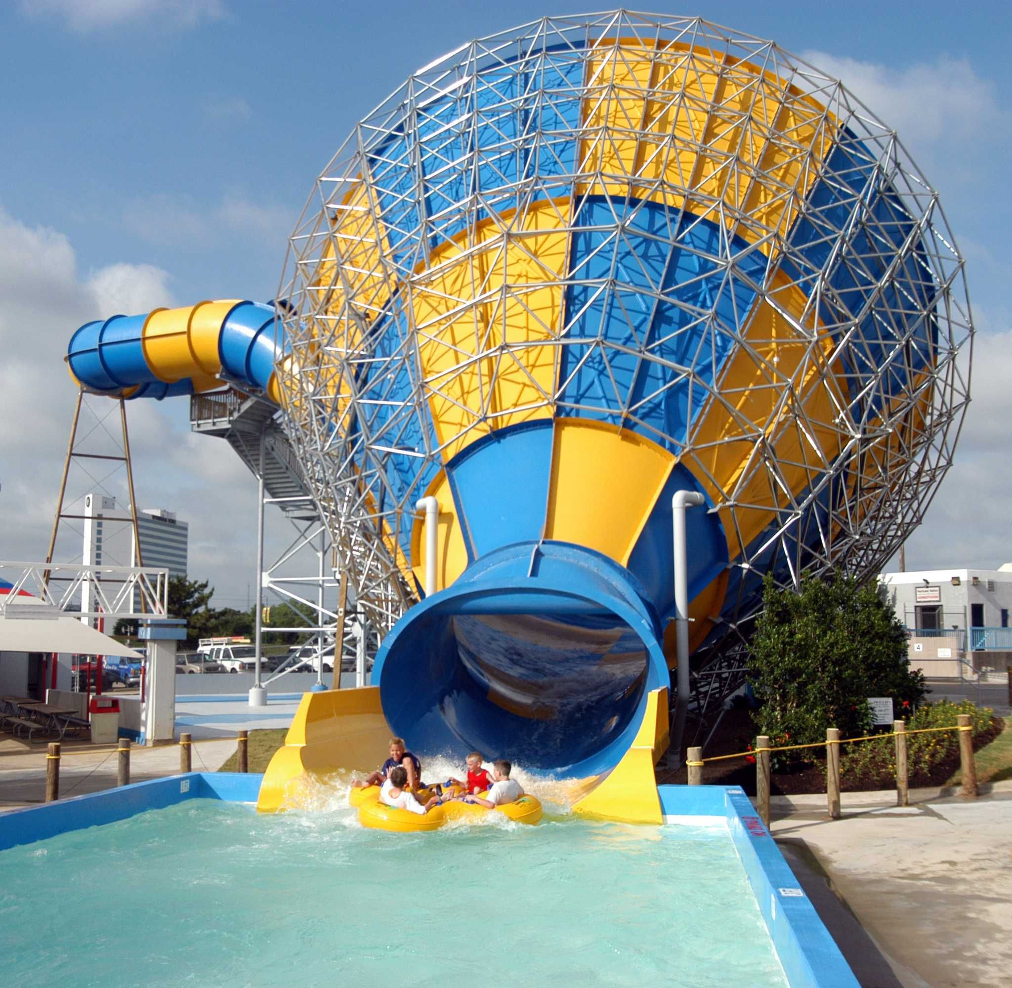 Six Flags Over Tx Great America Water Park Hurricane Harbor