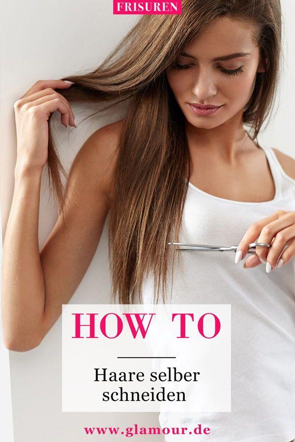 Haare selber schneiden: Mit diesen Anleitungen klappt's