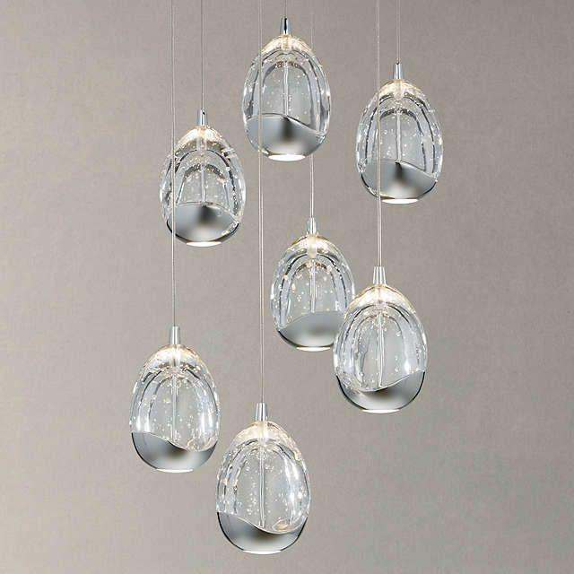 Kitchen Lighting John Lewis: John Lewis & Partners Droplet LED Pendant Ceiling Light, 7