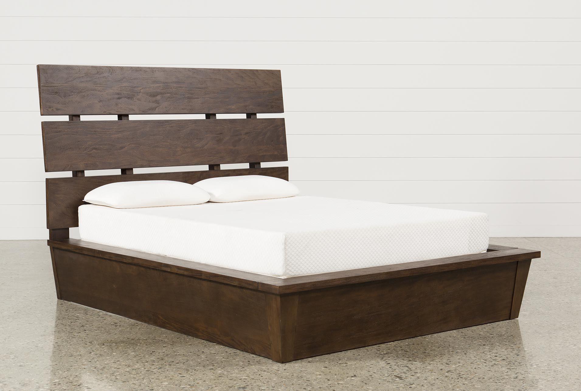 Livingston California King Panel Bed Bed Frame With Drawers California King Bed Frame King Storage Bed