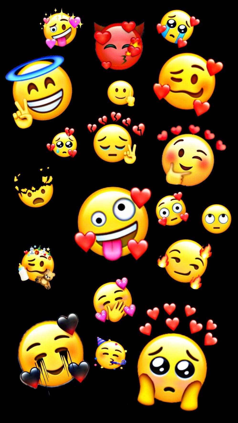 Emoji Wallpaper Cute Emoji Wallpaper In 2020 Cute Emoji Wallpaper Emoji Wallpaper Iphone Emoji Wallpaper