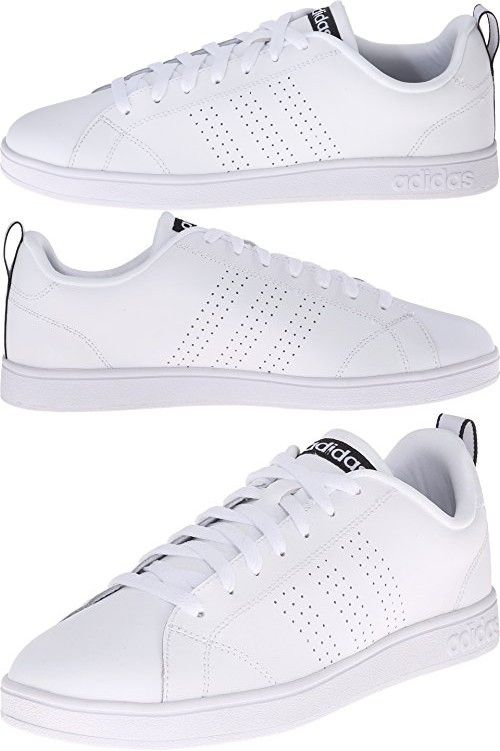 Adidas NEO Women's Advantage Clean VS W Casual Sneaker,White/White ...