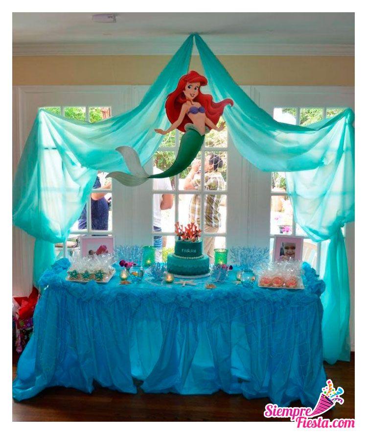 Bonitas ideas para tu pr xima fiesta de la sirenita - Todo para tu fiesta infantil ...