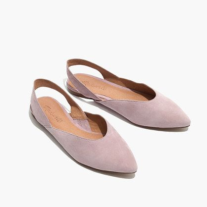 The Ava Slingback in Suede