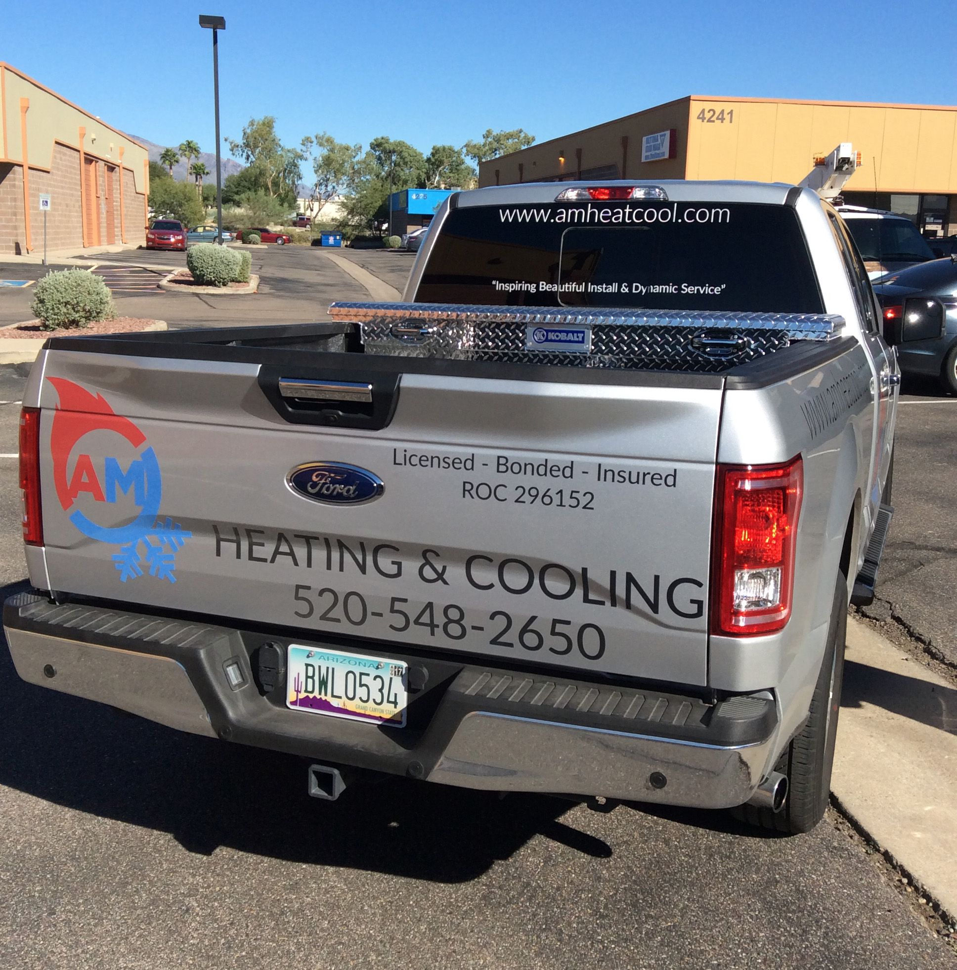 Am Heating And Cooling Vinyl Truckgraphics Decals Stickers