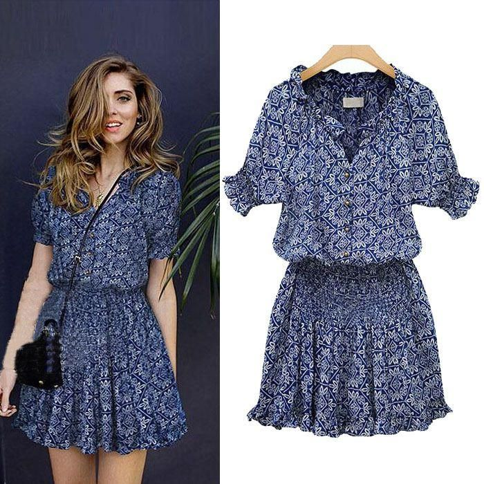 Style fashion girl summer dresses