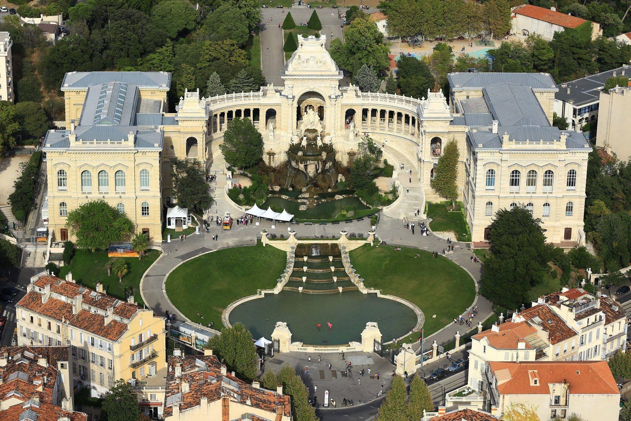 Le palais Longchamps - Marseille