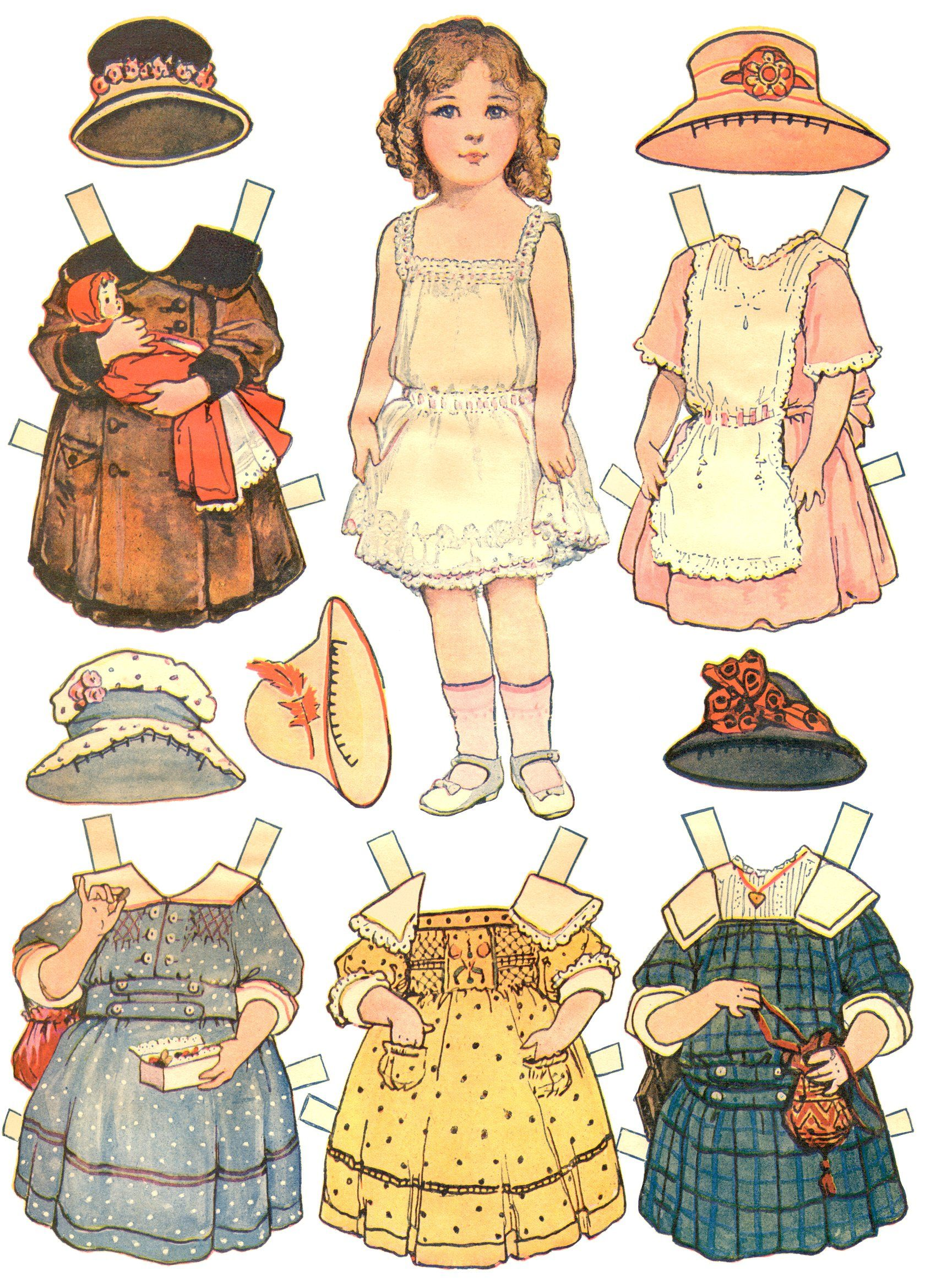 10+ images about Fun with Paper Dolls on Pinterest | Good ...