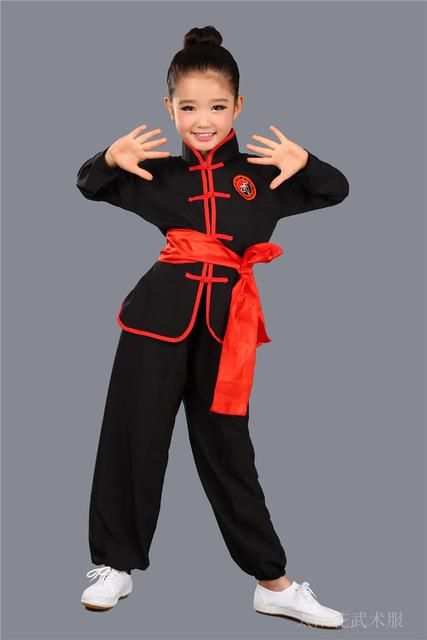 Children Wushu Clothing Girl Boy Chinese Traditional Kung Fu