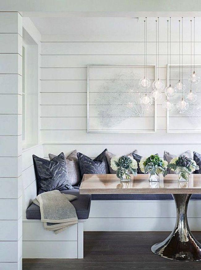 Inspiration Shiplap Dining Rooms Breakfast Nook