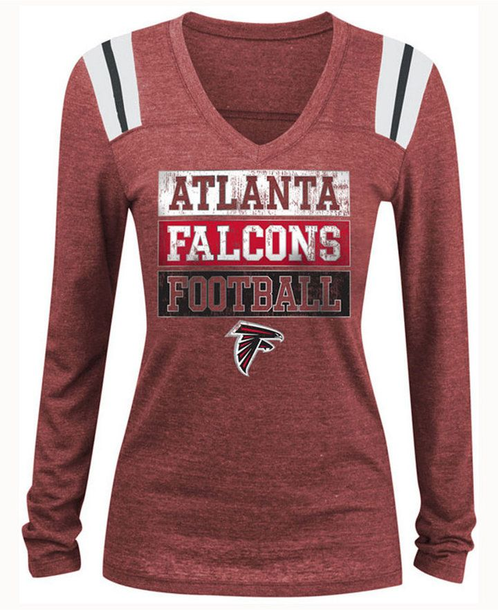 Wear your team loyalties loud and proud in the 5th   Ocean NFL women s  Triple Threat long-sleeve T-shirt. Fun shoulder graphics add a touch of  football ... 1b3523a076