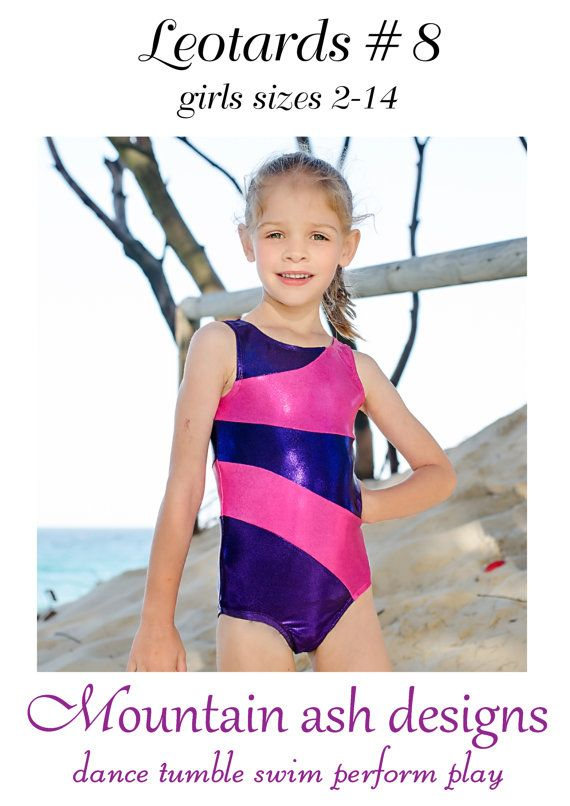 Sew Your Own Gymnastics Or Dance Leotards With This Pdf Sewing