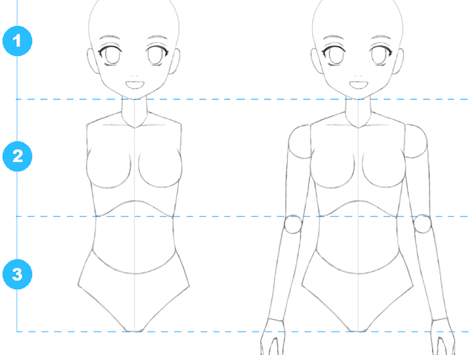 Te Enseno A Dibujar Anime Paso A Paso Super Facil Taringa Anime Child Manga Drawing Tutorials Anime Drawings