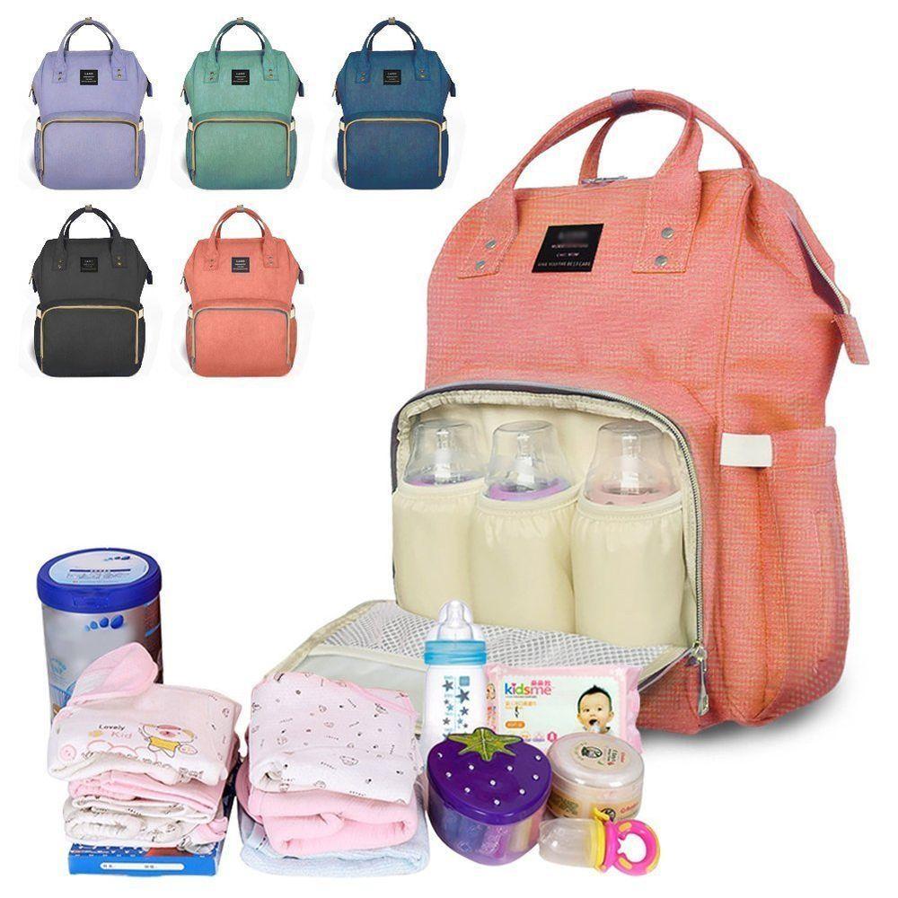 Diaper Mummy Bag MultiFunction Waterproof Travel Backpack