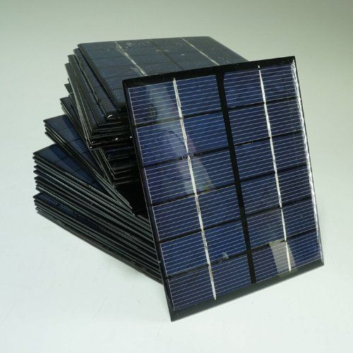 Sunnytech 1pc 2w 6v 333ma Mini Solar Panel Module Solar System Solar Epoxy Cells Charger Diy Diy Solar System Portable Solar Panels Mini Solar Panel
