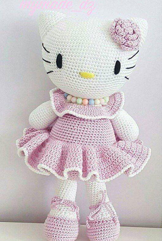 Hello Kitty Mariquita | Lanas y Ovillos | 788x529