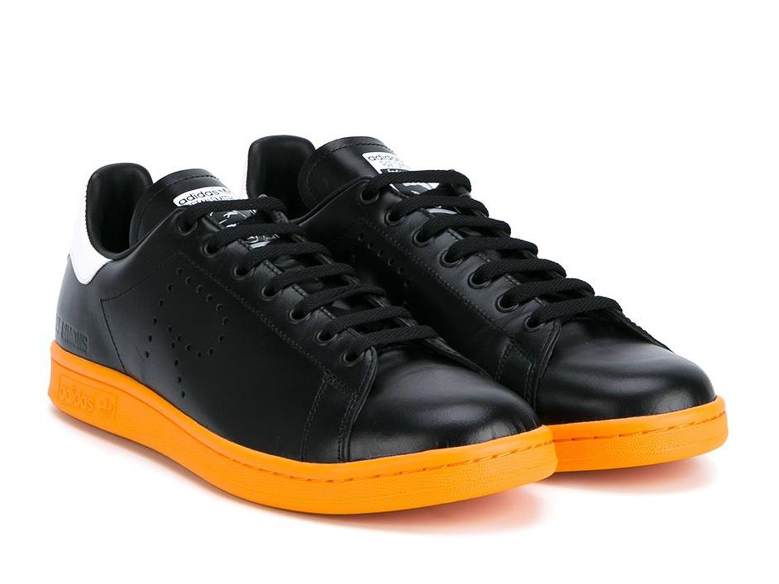 291292d6dcc0 Adidas Stan Smith by Raf Simons sneakers in black Leather - Italian  Boutique €213