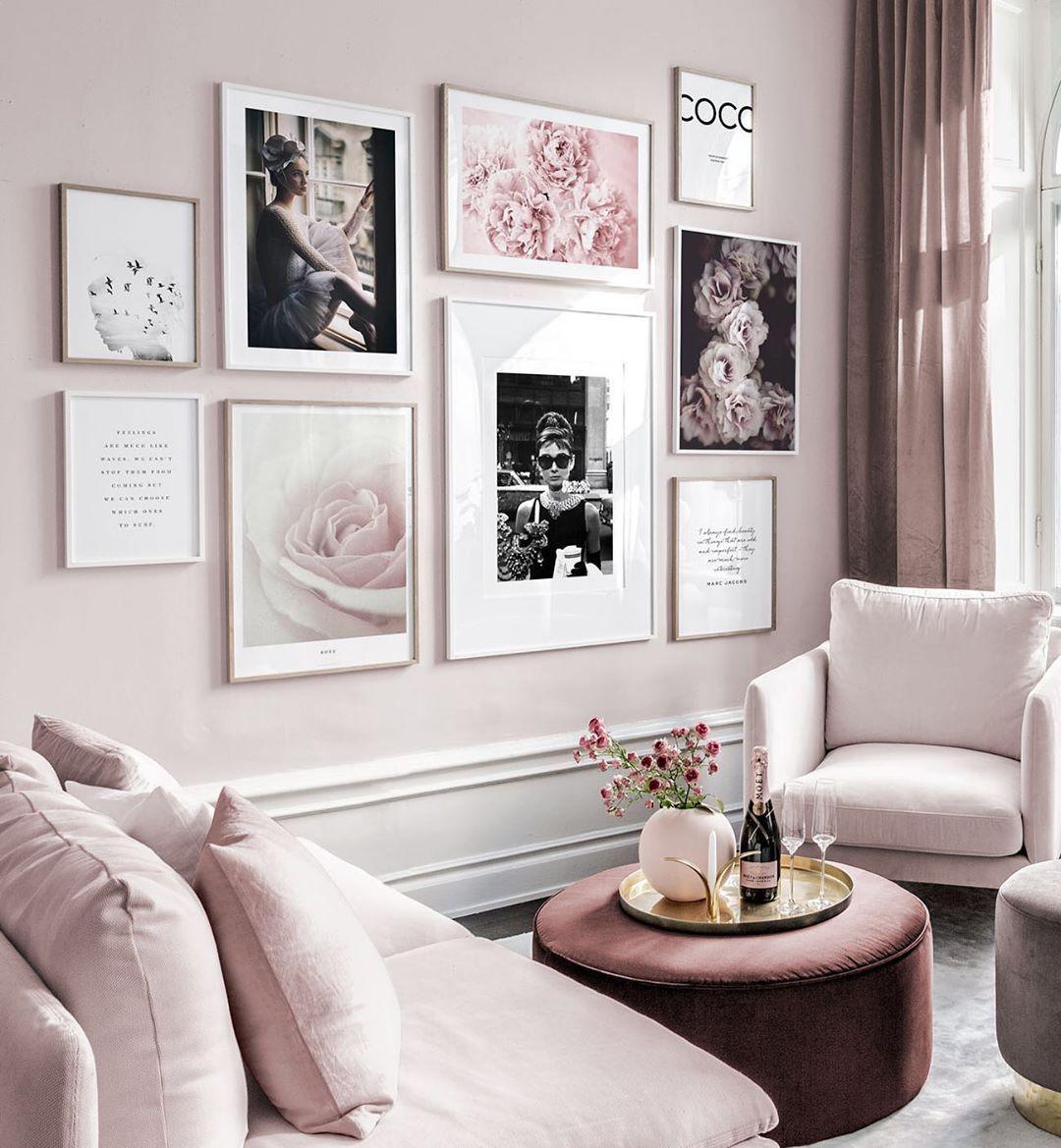 Stylish Ballerina scandi art office beauty bedroom living room print